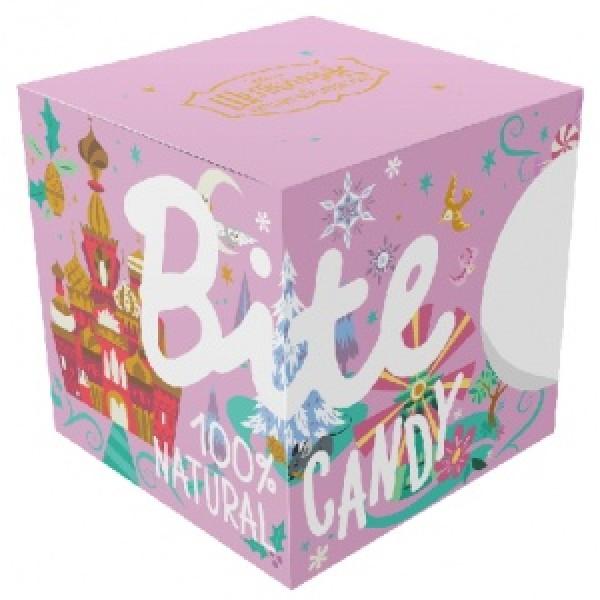 """Набор батончиков Bite Candy розовый  """"Щелкунчик"""", 120 г"""