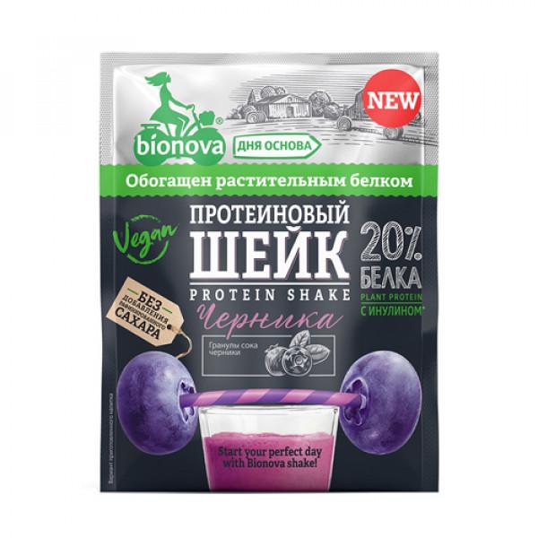 """Шейк протеиновый с Черникой """"Bionova"""", 25 г"""