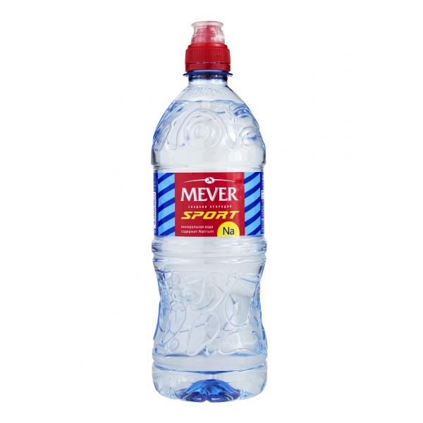 Минеральная вода MEVER Sport Россия, 0.75 л