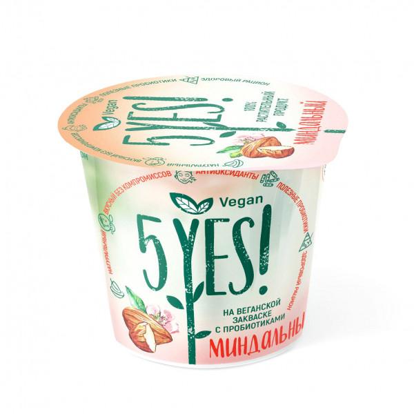 Йогурт Миндальный 5YES!, 130 г