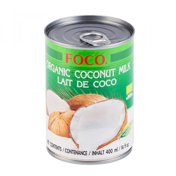Органическое кокосовое молоко, 10-12% FOCO, 400 мл