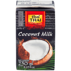 "Кокосовое молоко ""Real Thai"", 250 мл"