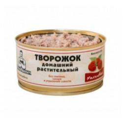 """Творог растительный с Малиной """"Веган Иваныч"""", 200 г"""