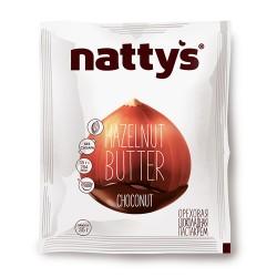 """Паста-крем """"шоколадная ореховая"""" NATTY'S, 35 г"""