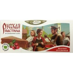 Пастила Русская яблочно-брусничная, 45 г
