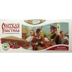 Пастила Русская яблочно-клюквенная, 45 г