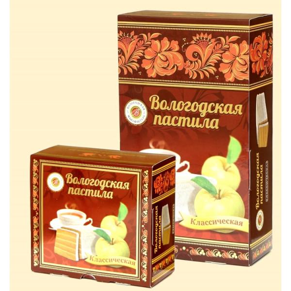 Вологодская пастила Классическая Яблочная, 150 г
