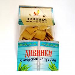"""Печенье """"Дивинки"""" с Морской Капустой, 150 г"""