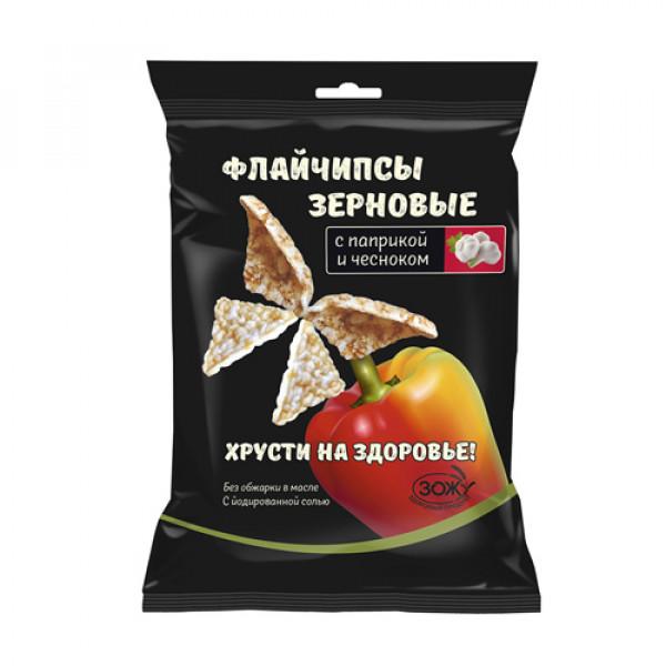 Флайчипсы зерновые с Паприкой и Чесноком 40 г