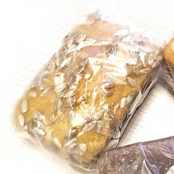 Хлеб ржаной цельнозерновой с семечками, 350 г