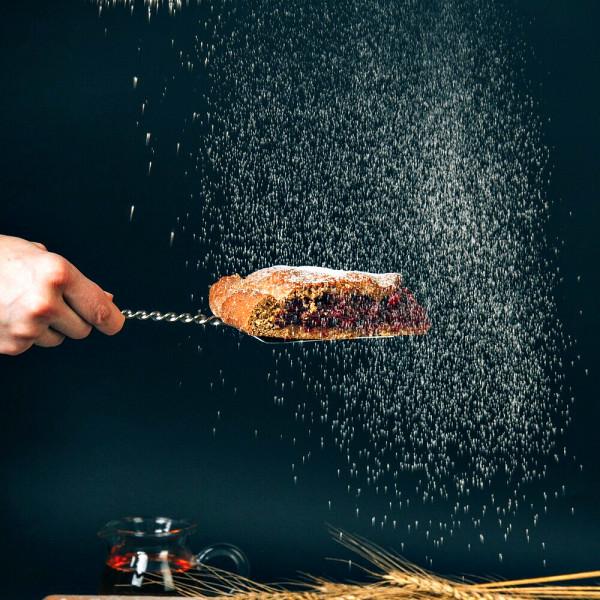Кусочек полбяного пирога с Инжиром, 180 г