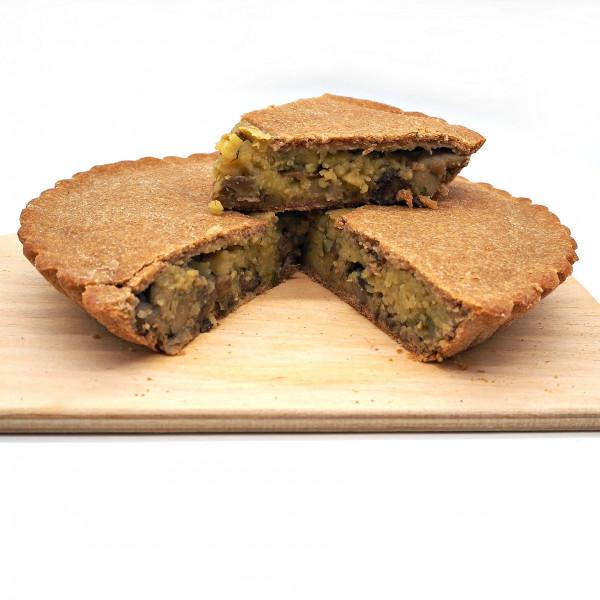 Пироги постные Овощные из цельнозерновой муки в ассортименте