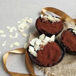 """Шоколадное пирожное с вишневой начинкой """"RAW"""", 85 г"""