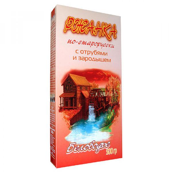 """Ржанка """"По-старорусски"""" с отрубями и ростками Беловодье, 500 г"""