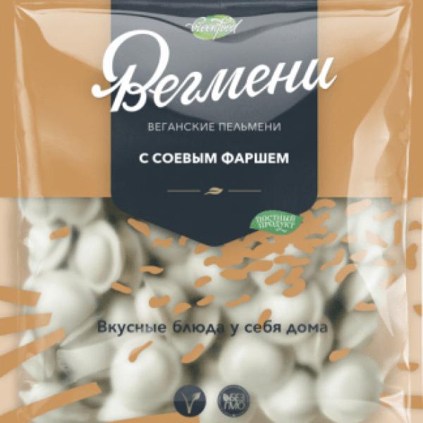 """Пельмени """"Вегмени"""" с Соевым фаршем, 450 г"""