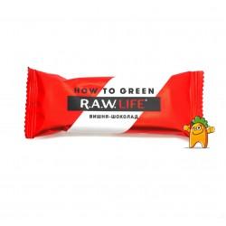 """Батончик """"RAW LIFE"""" Вишня-шоколад, 47 г"""