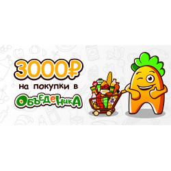 Подарочный билет ОбъедЕника на 3000 р