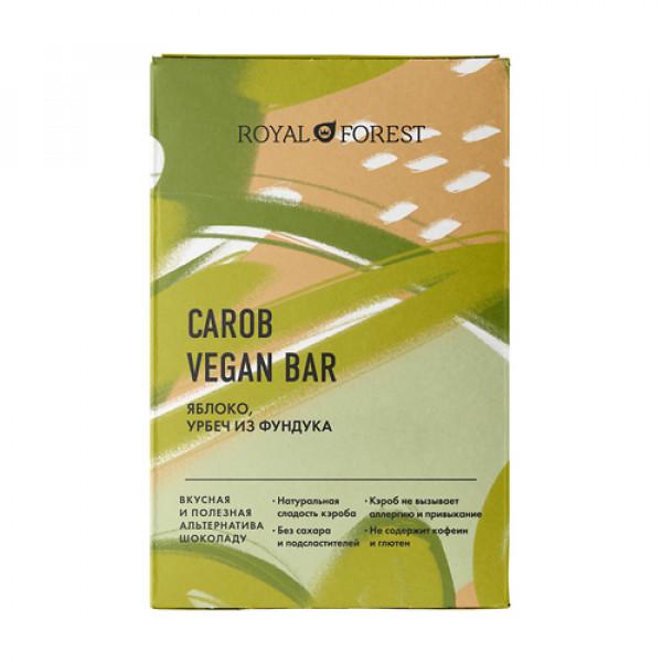 """Веганский шоколад из кэроба """"Яблоко"""" ROYAL FOREST, 50 г"""