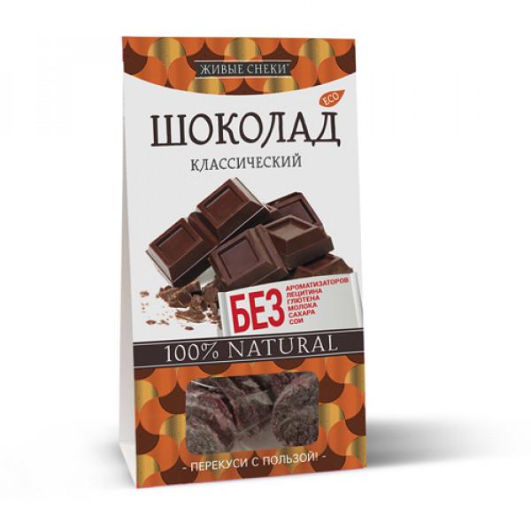 """Шоколад классический """"Живые снеки"""", 100 г"""
