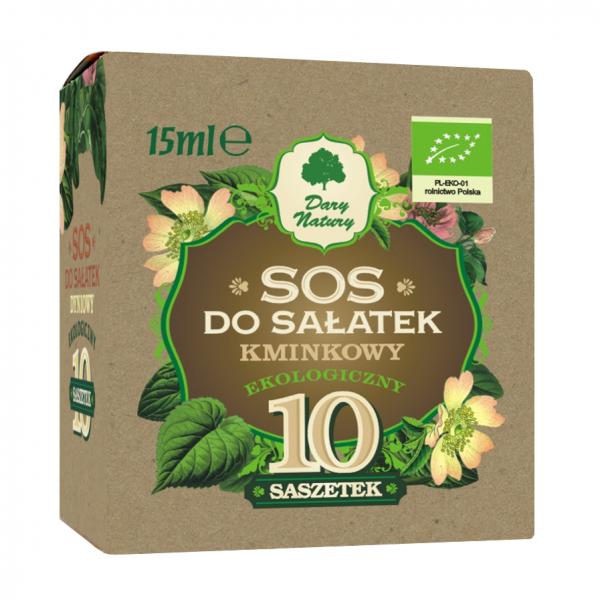 """Соус для салатов """"Тминный"""" ЭКО в пакетиках, 10х15 мл"""
