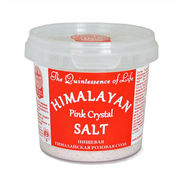 Гималайская Розовая пищевая соль мелкий помол, 284 г