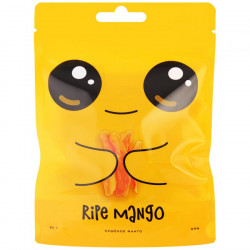 "Манго сушеное ""Ripe Mango"" без сахара, 80 г"