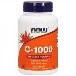 """Пищевая добавка Витамин C """"Now Foods"""", 100 табл"""