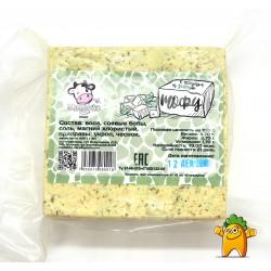 "Тофу с чесноком и зеленью ""Mallakto"", 400 г"