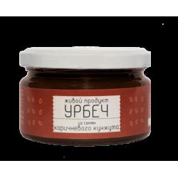 """Урбеч из семян Коричневого Кунжута """"Живой продукт"""", 225 г"""