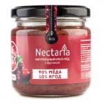 "Крем-мёд NECTARIA ""с Брусникой"", 230 г"