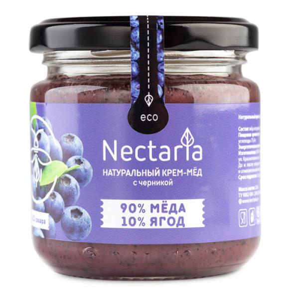 """Крем-мёд NECTARIA """"с Черникой"""", 230 г"""