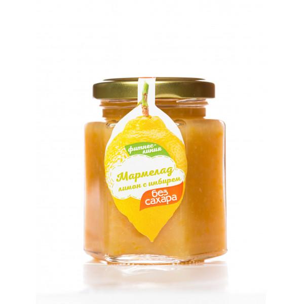 "Мармелад Лимон с имбирем на топинамбуре ""Сам бы ел"""