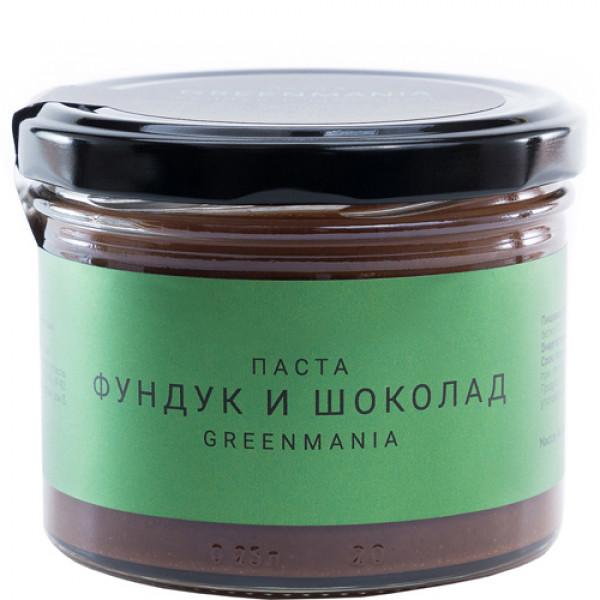 "Паста ""GreenMania"" Фундук и Шоколад, 200 г"