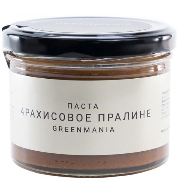 "Паста ""GreenMania"" Арахисовое пралине, 200 г"