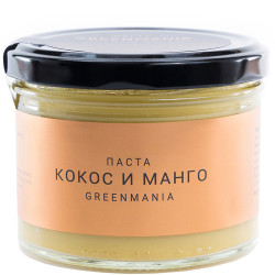 "Паста ""GreenMania"" Кокос и манго, 200 г"