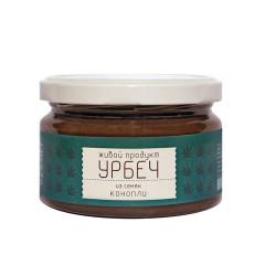 """Урбеч из семян конопли """"Живой продукт"""", 225 г"""