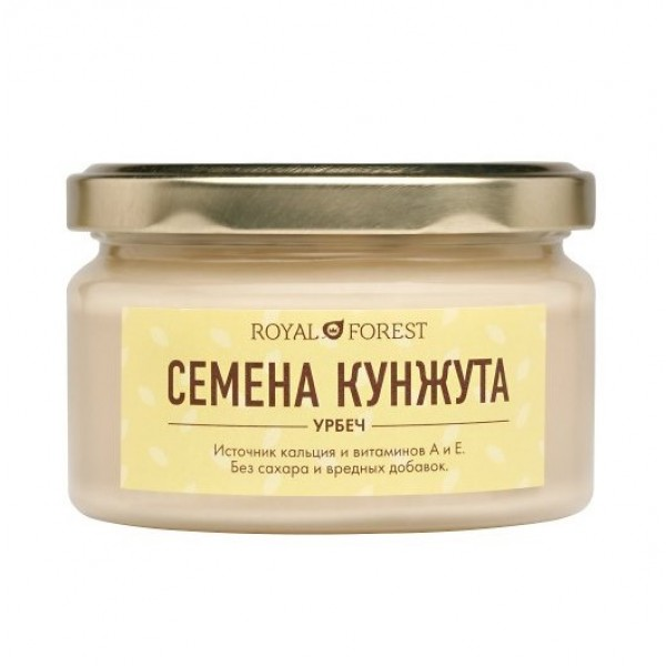 Урбеч из белого кунжута Royal Forest, 200 г