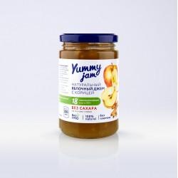 Низкокалорийный джем Yummy Jam яблочный с корицей, 350 г