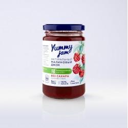 Низкокалорийный джем Yummy Jam малиновый, 350 г