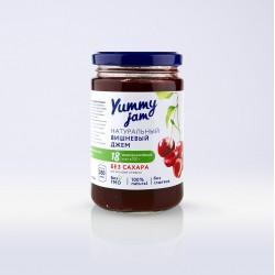 Низкокалорийный джем Yummy Jam вишневый, 350 г